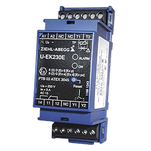 ATEX Thermal contact relay